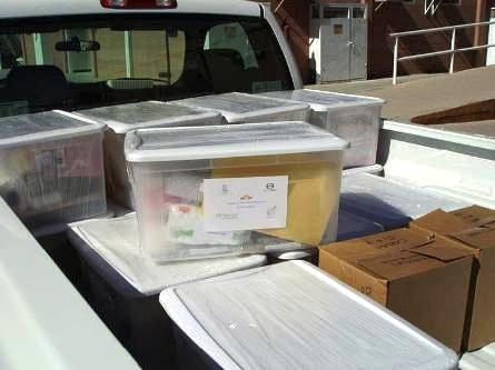 """Distribución de Kits experimentales """"hechos en Chihuahua"""""""